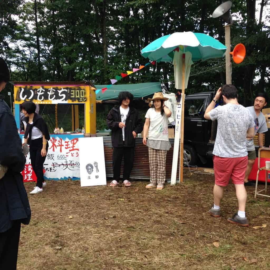 Ueno & Saya from Tenniscoats in Hokkaido うえの さや テニスコーツ