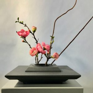 Japanese Vase – Large Square Ikebana Base