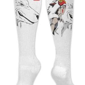 Princess Mononoke Socks