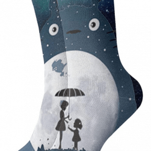 Totoro Socks – Space Theme