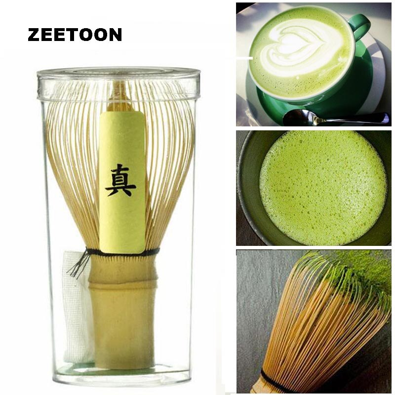 Japanese Bamboo Matcha Tea Whisk Green Tea Bamboo 80 Powder Brushes Chasen Brush Tools Matcha Kung Fu Tea Brush Play Milk Tea