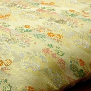 Zabuton Cover – Golden Hattan Fabric