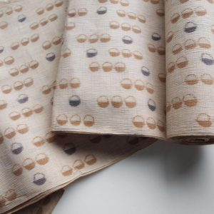 Patterned Beige Hemp