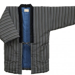 Striped Watanosato Traditional Jinbei