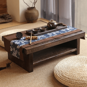 Antique Style Chabudai Japanese Table