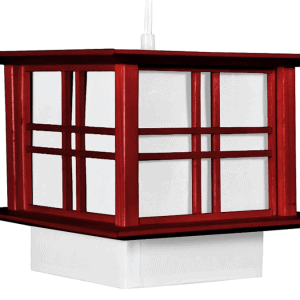 Oriental Furniture Akida Box Hanging Lamp