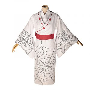 2019 Demon Slayer New dress White Kimono Christmas Halloween costume