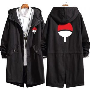 Uchiha Family Crest Long Coat