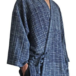 Hand Woven Cotton Samue With Contrasting Top and Bottom